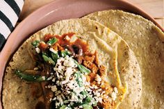 Turkey Barbacoa Tacos with Black Beans