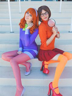 The good part about cartoon characters is that they tend to wear the same outfit everyday, which makes their costumes super easy to make and very recognizable. So, in a way, they make perfect costumes. If you and your BFF are looking for a cute but easy matching costume for Halloween this year, you should check out these DIY costumes based on cartoon characters, and see which one matches you and your BFF's personality the most. Good luck!