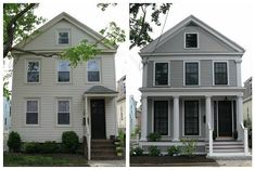 The difference between a cheap update from a previous owner and putting money into a remodel. Simply beautiful!