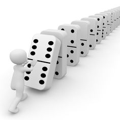 Free Image on Pixabay - Mikado, Domino, Stones, Pay Rube Goldberg Machine, Domino Effect, Karma, 3d Man, 3d Icons, Monday Inspiration, I Know The Plans, White People, Simple Way