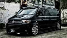 Vw T5 Campervan, Kombi Camper, Car Volkswagen, Vw Cars, T5 Tuning, Caravelle T5, Mini Van, Vw Transporter Van, Hot Vw