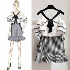 New fashion design sketches dresses shops 27 ideas Cute Fashion, Asian Fashion, Look Fashion, Trendy Fashion, Girl Fashion, Fashion Trends, Holiday Fashion, Fashion Drawing Dresses, Fashion Illustration Dresses