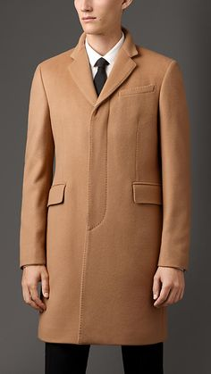 Burberry London Wool Cashmere Topcoat