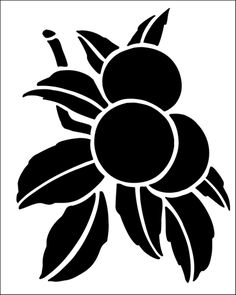 Apples stencil from The Stencil Library GENERAL range. Buy stencils online…