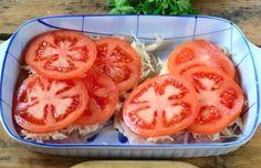 Egy csirkemell, 100 g reszelt sajt, 1 paradicsom, ebből lesz a világ legfinomabb étele! - Ketkes.com Honeydew, Food And Drink, Paleo, Fruit, Vegetables, Cooking, Health, Easy, Diet