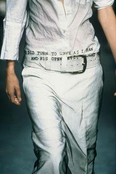 Ann Demeulemeester Collection Spring/Summer 2000