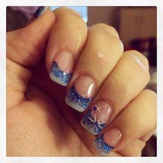 acrylic winter nails  nailssarah  nails winter