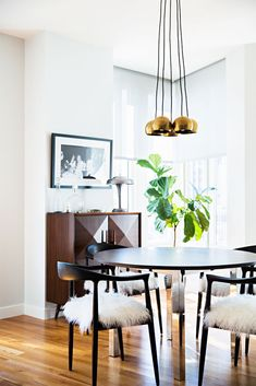 Issac Chandelier by Schoolhouse Electric | See more images from 10 things every dining room needs on domino.com