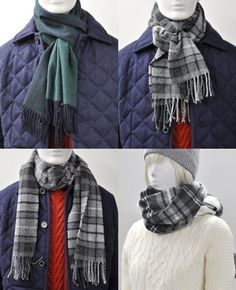 5 Ways to Wear a Muffler
