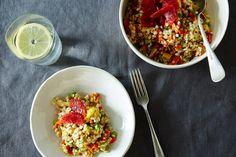 Blood Orange, Roasted Root Vegetable, and Barley Salad, a recipe on Food52