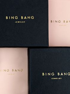 Bing Bang Jewelry Branding & Packaging on Behance