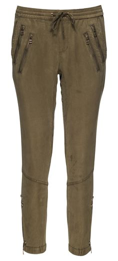 Pam & Gela Zippered Track Pant in Ivy / Manage Products / Catalog / Magento Admin
