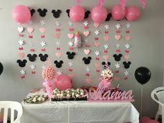 Ideas de decoración para cumpleaños Minnie Mouse