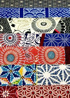 Japanese fabric. Karaku.