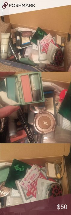 Makeup!! MAKE OFFER Some items are used, some are new. Everything is in good condition. Just don't use any of it. Only selling all-together, I will not sell items individually. The box is filled with makeup, about 5 pounds. I just want to get rid of it. MAKE A REASONABLE OFFER!! :) ulta Makeup Face Primer