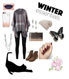 """""""Winter Essentials ☃"""" by mysticromance on Polyvore featuring Boohoo, Jeffree Star, Givenchy, prAna and Casetify"""