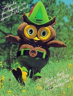 """""""Give a Hoot, Don't Pollute"""""""