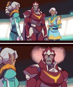 YES Honerva and Zarkon are so cute together