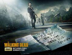 NEW The Walking Dead Mid Season Promo Art - Mania.com