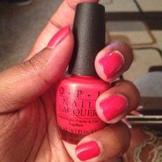 O.P.I Nail laquer! Can be found at Chatters and Regis Salons as well as London Drugs