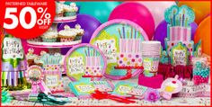 Sweet Stuff Birthday Party Supplies - Party City