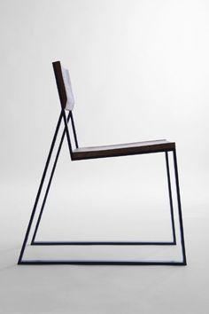 Minimalist K1 chair  | chair . Stuhl .  chaise | Design: Moskou | Photo: Jola Paź |