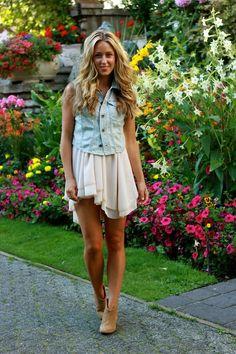 cute hair cute outfit