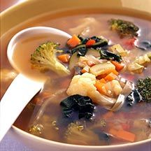 Fresh Vegetable Soup - Zero Points Soup ... To lose weight, Dr Oz recommends having this before lunch and before dinner!
