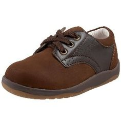 Willits Li'l Chris Toddler Brown Leather Saddle Shoes.