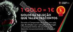 Oferta de 1€ por golo CONTINENTE dias 15, 19 e 23 junho - http://parapoupar.com/oferta-de-1e-por-golo-continente-dias-15-19-e-23-junho/