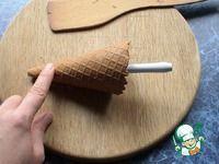 Вафельный рожок с заварным кремом ингредиенты