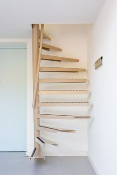 A perfect solution for small space living: the 1m2 stairs by EeStairs | COCO LAPINE DESIGN | Bloglovin'
