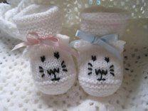 Little Kitten Baby Booties