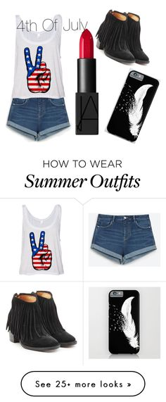 """""""4th of July"""" by gracie-13-d on Polyvore featuring Zara, NARS Cosmetics and Fiorentini + Baker"""