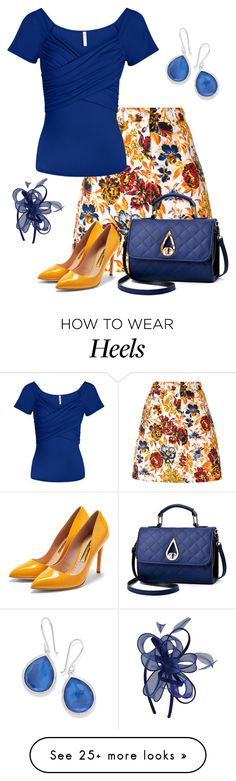 """Untitled #1118"" by izzystarsparkle on Polyvore featuring MSGM, Rupert Sanderson, M&Co and Ippolita"