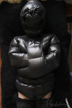 Insight into my Gay male bondage adventures and other fetishes. Down Suit, Down Sleeping Bag, Femdom Captions, Pvc Raincoat, Moon Boots, Straight Jacket, Sack Bag, Puffy Jacket, Rain Wear