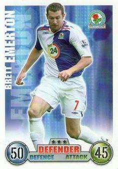 2007-08 Topps Premier League Match Attax #55 Brett Emerton Front