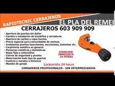 CERRAJEROS EL PLA DEL REMEI VALENCIA 603 909 909