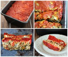 Mom's Ultimate Vegetarian Lentil Loaf - vegan and gluten free