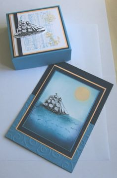 Ships Ahoy, Matey! by cats2 - Cards and Paper Crafts at Splitcoaststampers
