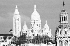 Paris. December 2009. By NikitaDB. Sacre Coeur.