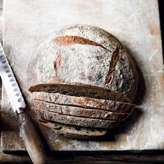 Baking your own sourdough bread to serve as a side dish, or on its own is hugely satisfying. Lucas Hollweg's recipe shows you how.