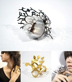 TheCarrotbox.com modern jewellery blog : obsessed with rings // feed your fingers!: Cheryl Eve / Flapper's