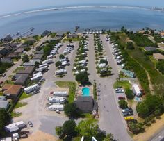 One of the top rated Good Sam rv parks in the country! Enjoy our private beach on the Sound, or a mile away the thrills of the Gulf. Check us out on TripAdvisor!