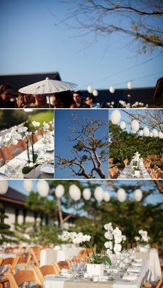 #ButterFlyInspiration: Texas Ranch Wedding with Japanese influence | www.ButterFlyBridalEvents.com