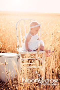 Sunrise In A Wheat Field.  Photo Ideas.  Wheat Field Location. @Kellie Dyne Leonard Huff