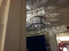 hammered tin chandelier - Google Search