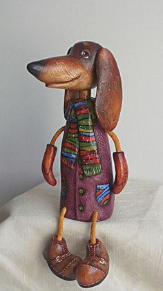 Cute Doxie figure