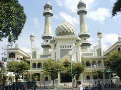 Masjid Agung at Malang City, East java-Indonesia.
