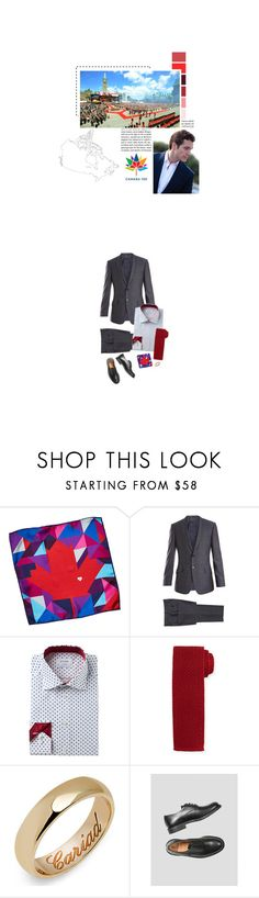 """(A) Attends events in Gatineau and Ottawa, celebrating Canada's sesquicentennial"" by immortal-longings ❤ liked on Polyvore featuring Paul Smith, Tom Ford, Margaret Howell, men's fashion and menswear"